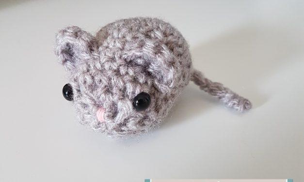 Amigurumi petite souris