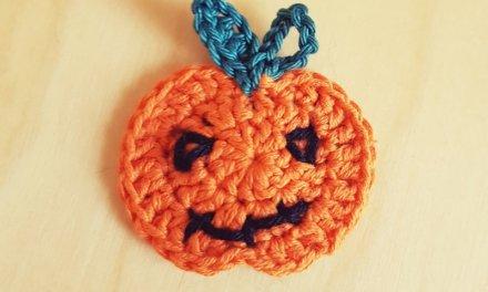Applique CITROUILLE (spécial Halloween)