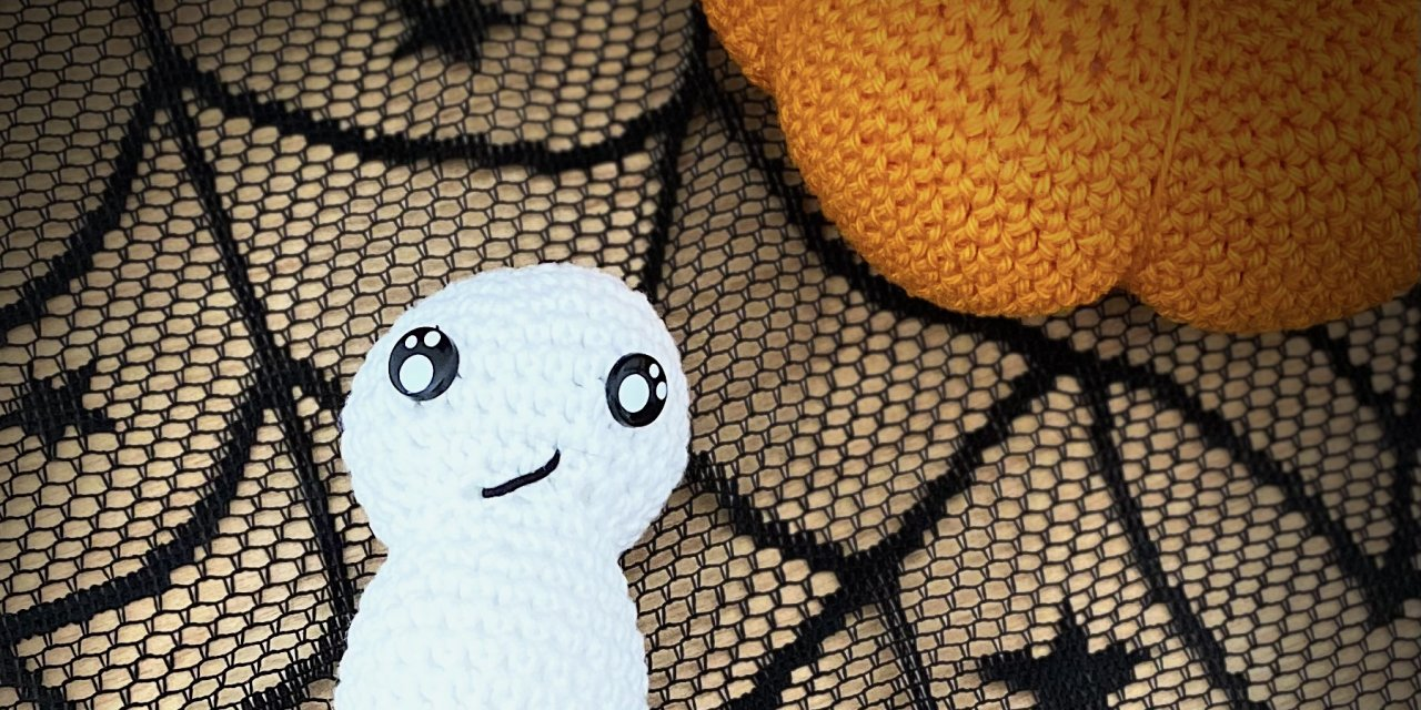 Fantôme amigurumi (spécial halloween)